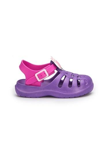Pink Step Sandalet Mor